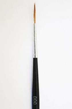 XDT Quality Brush: 128 Brush Rigger 3/0