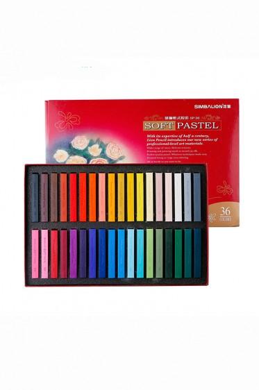 Simbalion Pastel: Soft Pastel 36 colors