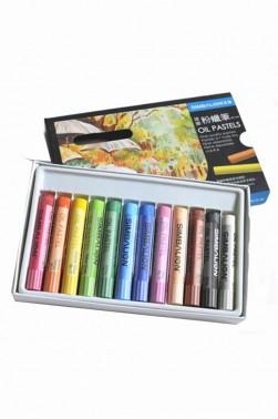 Simbalion Pastel: Oil Pastel 12 colors