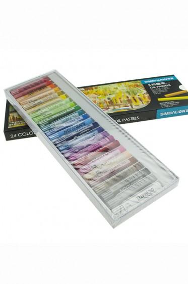 Simbalion Pastel: Oil Pastel 24 colors