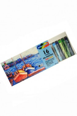 Simbalion Pastel: Oil Pastel 16 colors