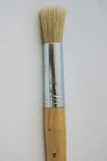 Eterna Brush: Pure Bristle Round 12