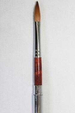 "XDT Quality Brush: Kolinsky Travel Brush Mop Brush 1/4"""