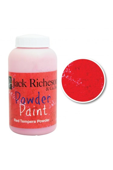 Jack Richeson Powder Paint: 1 Red 17