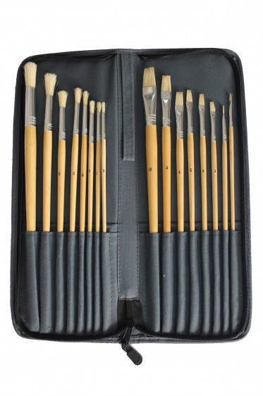 Carrying Case: Art Grey Case for Oil Painting