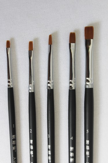 XDT Quality Brush: 537 Brush Set