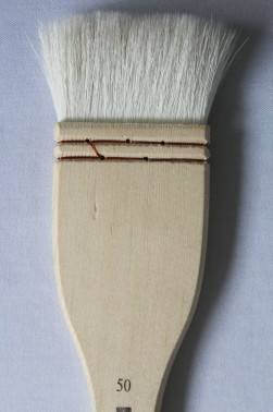 XDT Quality Brush: 5249 Fine Wool Brush 50mm