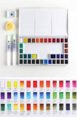 Maries Water Colour Sets:  Maries Artist Watercolour 36colors Set