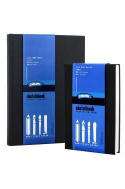 Derivan Pads: Sketch Book Rubber Cover A5 110gsm 80 Sheets
