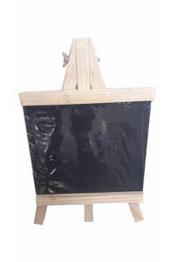 Easel: Berkeley Wooden Table Easel with Black Board 23x12cm