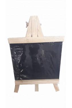 Easel: Berkeley Wooden Table Easel with Blackboard 23x12cm