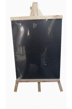 Easel: Berkeley Wooden Table Easel with Blackboard 25x48cm