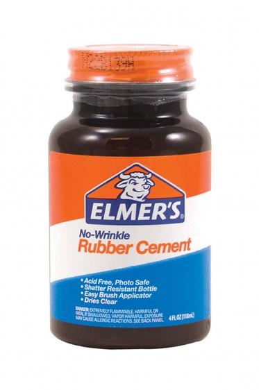Elmer's Adhesive: Elmer's Rubber Cement 118ml