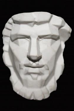 Wooden Mannequin & Models: Cronus Mask Model 2 x 1/5 inches