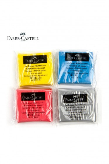 Faber Erasers: Faber Castell Kneadable Erasers Gray
