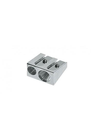 Faber Sharpener: Faber Castell Aluminum Metal Double Sharpener