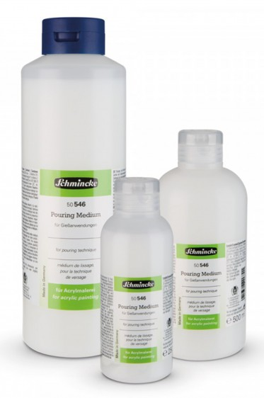 Schmincke Acrylic Medium: Schmincke Pouring Medium 1Liter