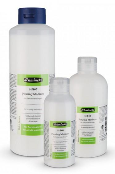 Schmincke Acrylic Medium: Schmincke Pouring Medium 500ml
