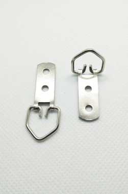 Canvas & Frame Double Hole D-Ring Hanger Hook Small (2pcs.)