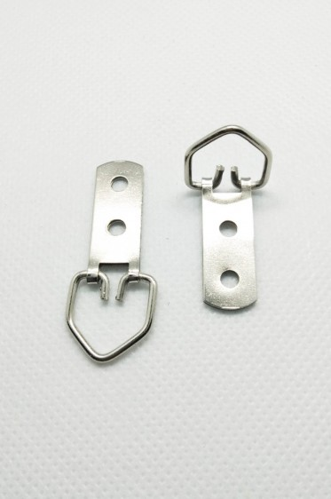Canvas & Frame Double Hole D-Ring Hanger Hook Small