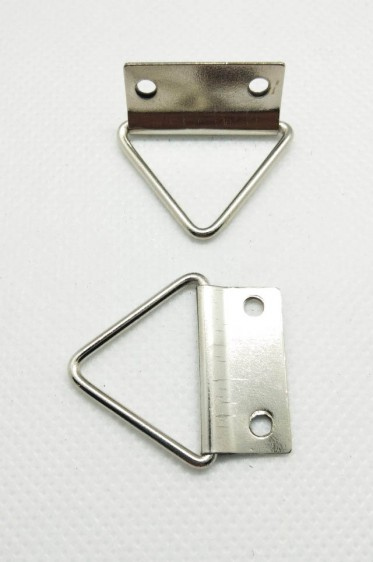 Canvas & Frame Double Hole D-Ring Hanger Hook Triangle