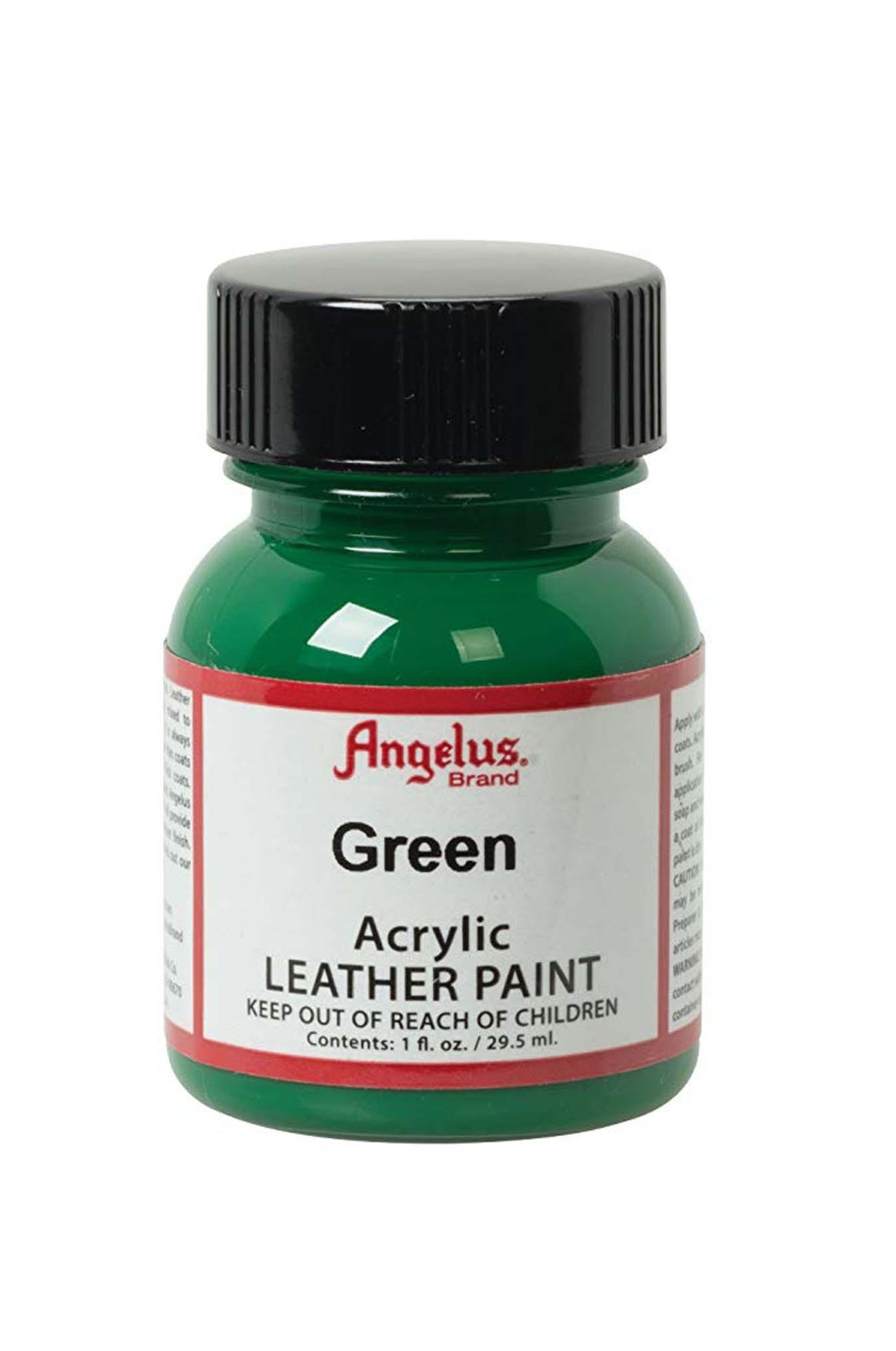 Angelus Acrylic Leather Paint: Green