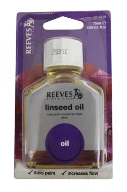 Reeves Linseed Oil 75ml