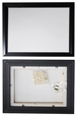 Abstrak Artist Canvas Stretched: Streched Canvas with Removable Frame 12 x 16 inches