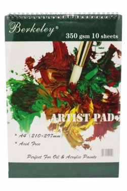 Berkeley Artist Pad A4 350gsm 10 Sheets