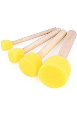 XDT Quality Brush: Sponge Stamp 4pcs