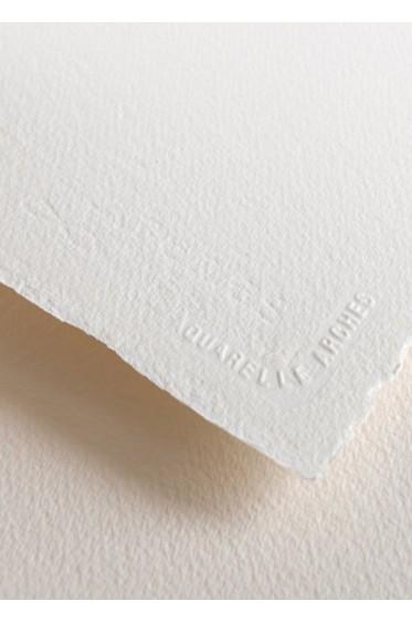 Canson Arches: Cold Pressed Cream White 185gsm 22 x 29 7/8