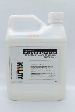Kulay Oil Medium: Natural Gum Turpentine 1L