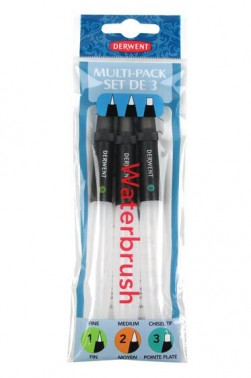 Derwent Waterbrush: Pack of 3