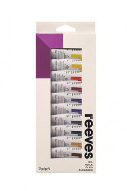 Reeves Oil Paint 12 Colors Set 10ml