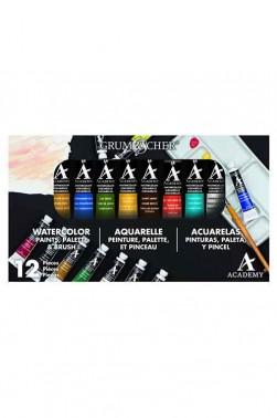Grumbacher Academy Watercolor: Grumbacher Academy Watercolor 10pcs x 7.5ml
