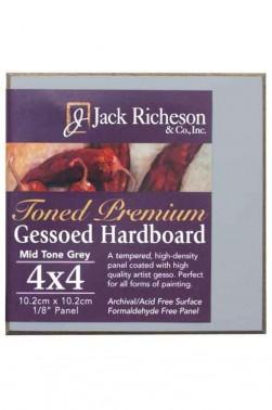 Jack Richeson Premium Gessoed Panels 4 x 4 inches