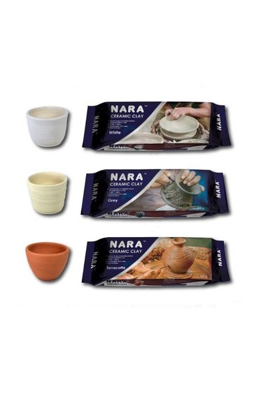 Nara Ceramic Clay White 500g
