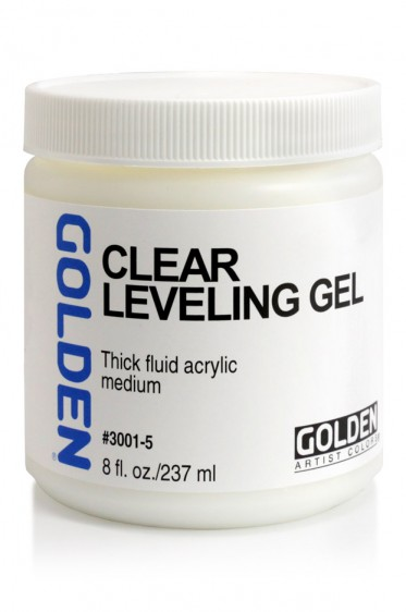 Golden Acrylic Medium: Clear Leveling Gel 237ml