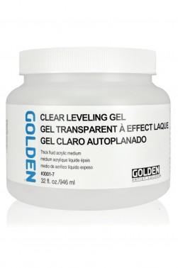 Golden Acrylic Medium: Clear Leveling Gel 946ml
