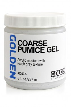 Golden Acrylic Medium: Coarse Pumice Gel 237ml