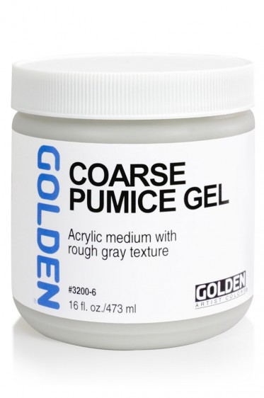 Golden Acrylic Medium: Coarse Pumice Gel 473ml