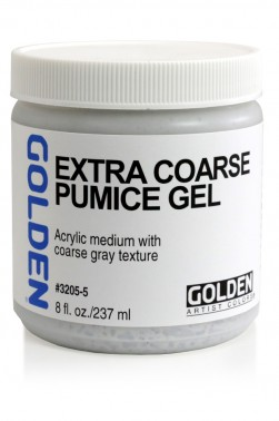 Golden Acrylic Medium: Extra Coarse Pumice Gel 237ml