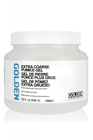 Golden Acrylic Medium: Extra Coarse Pumice Gel 946ml