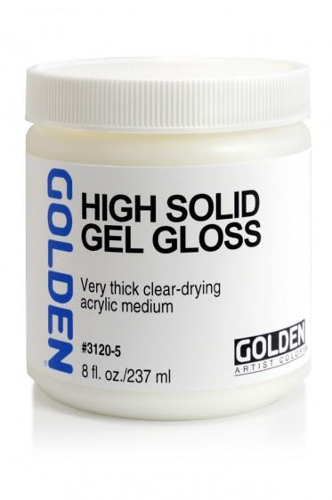 Golden Acrylic Medium: High Solid Gel Gloss 237ml