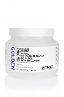 Golden Acrylic Medium: High Solid Gel Gloss 946ml