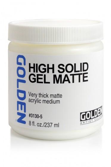 Golden Acrylic Medium: High Solid Gel Matte 237ml