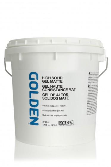 Golden Acrylic Medium: High Solid Gel Matte 1 Gallon