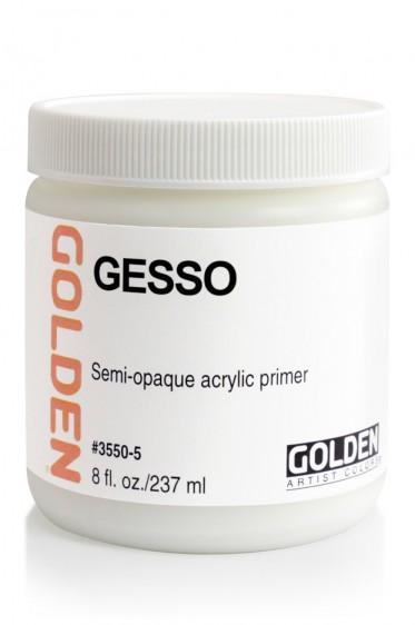 Golden Acrylic Medium: Golden Gesso 237ml