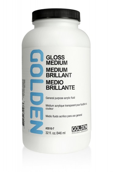 Golden Acrylic Medium: Gloss Medium  946ml