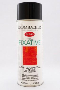 Grumbacher Oil Medium: Final Fixative Gloss 325ml